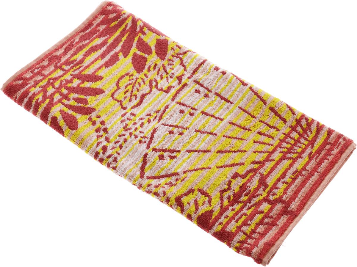 Полотенце Soavita Premium. Веер, цвет: белый, красный, желтый, 45 х 90 см74691Полотенце Soavita Premium. Веер выполнено из 100% хлопка. Изделие отлично впитывает влагу, быстро сохнет, сохраняет яркость цвета и не теряет форму даже после многократных стирок. Полотенце очень практично и неприхотливо в уходе. Оно создаст прекрасное настроение и украсит интерьер в ванной комнате. Рекомендуется стирка при температуре 40°C.