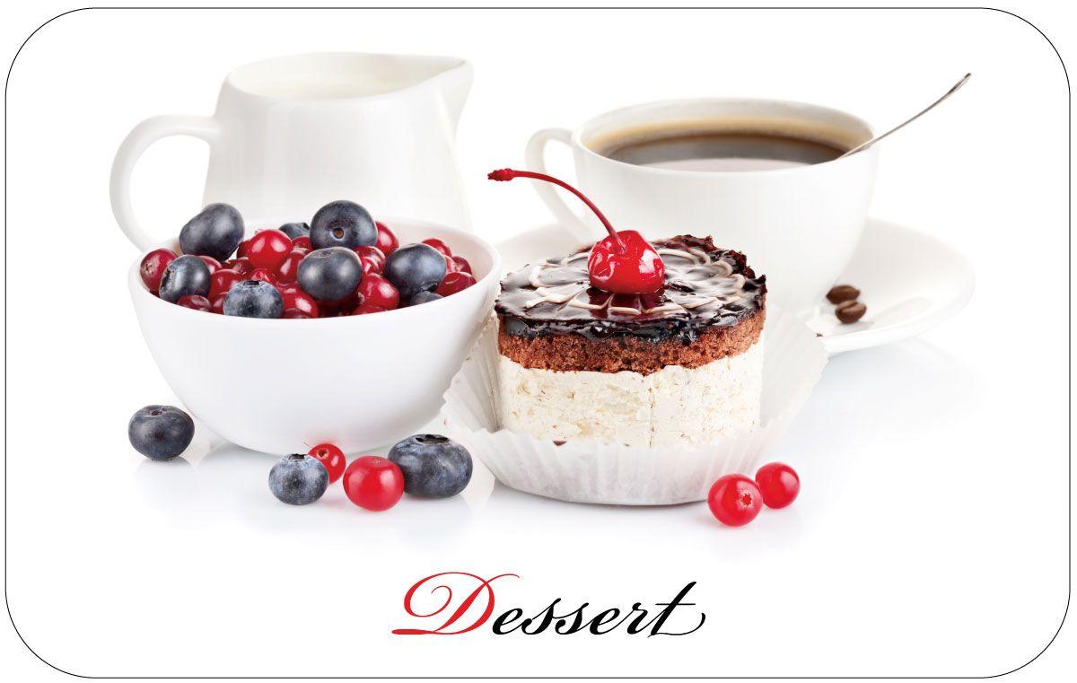Салфетка сервировочная Пластмаркет Десерт, 41 х 26 см504Салфетка Пластмаркет Десерт, выполненная из ПВХ, предназначена для сервировки стола. Она служит защитой от царапин и различных следов, а также используется в качестве подставки под горячее. Оригинальный рисунок дополнит стильную сервировку стола. Размер салфетки: 41 х 26 см.