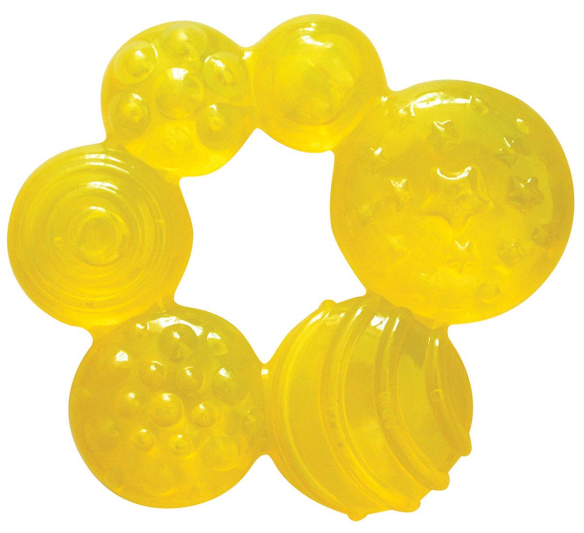 Lubby Прорезыватель Геометрия цвет желтый
