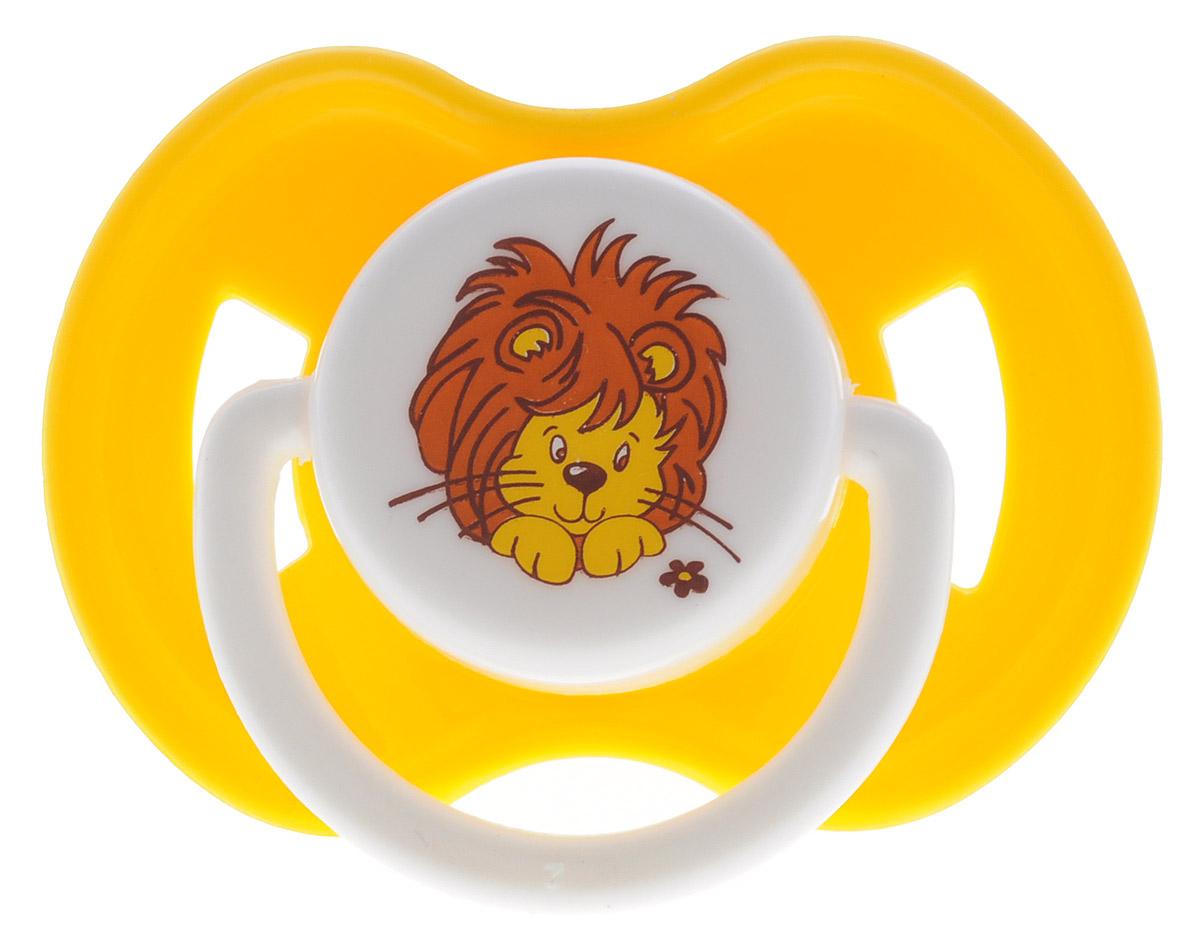 Lubby Пустышка латексная Веселые животные Львенок от 6 месяцев