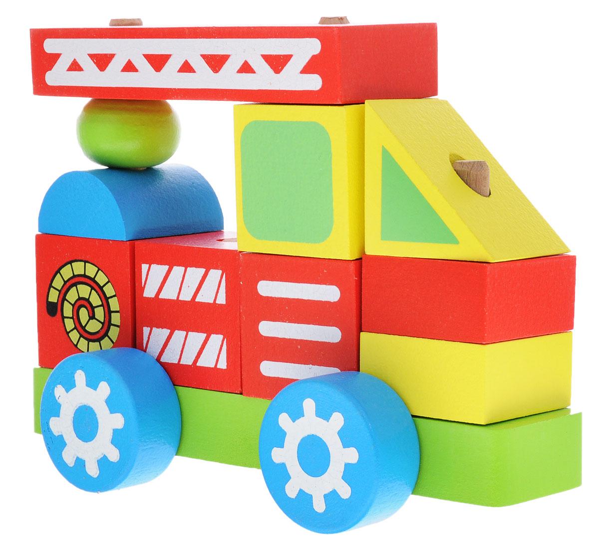 Alatoys Конструктор-каталка Пожарная машинаККМ01Конструктор-каталка Alatoys Пожарная машина приятно порадует юных исследователей мира! Уникальный дизайн и яркие цвета не оставят равнодушными как мальчиков, так и девочек. Игрушка развивает мелкую моторику рук, навыки конструирования, пространственное мышление, аналитические и творческие способности, сенсорное и визуальное восприятие. При изготовлении были использованы экологически чистые краски и безопасная древесина. Деревянная игрушка долговечна и безопасна, она не может поранить или испортиться. Конструктор-каталка Alatoys Пожарная машина - это та игрушка, которая никогда не устареет!