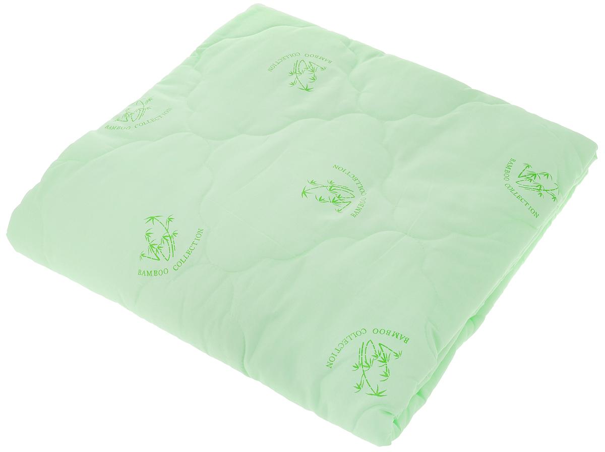 Одеяло ЭГО, наполнитель: бамбуковое волокно, 142 x 205 см. ЭО-2001-01ЭО-2001-01Одеяло ЭГО подарит уютный и комфортный сон. Чехол одеяла выполнен из полиэстера и оформлен рисунком в виде бамбуковых стеблей. Внутри - наполнитель из бамбукового волокна. Такой наполнитель имеет массу достоинств: антибактериальные свойства, хорошую воздухонепроницаемость, прочность, гигроскопичность, экологичность. Кроме того, изделия с таким наполнителем очень просты в уходе - наполнитель не садится и не сбивается при стирке, обладает высокой прочностью и не впитывает запахи. Одеяло с бамбуковым наполнителем придется по душе людям, ценящим красоту и комфорт. Оригинальная стежка равномерно распределяет наполнитель в чехле. Такое одеяло дарит комфортный сон в любое время года. Одеяло легко стирается в стиральной машине и быстро высыхает. Ваше одеяло прослужит долго, а его изысканный внешний вид будет годами дарить вам уют.