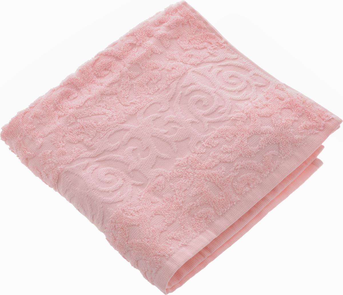 Полотенце Soavita Luxury. Квадро, цвет: розовый, 50 х 90 см51639Полотенце Soavita Luxury. Квадро выполнено из 100% хлопка. Изделие отлично впитывает влагу, быстро сохнет, сохраняет яркость цвета и не теряет форму даже после многократных стирок. Полотенце очень практично и неприхотливо в уходе. Оно создаст прекрасное настроение и украсит интерьер в ванной комнате.
