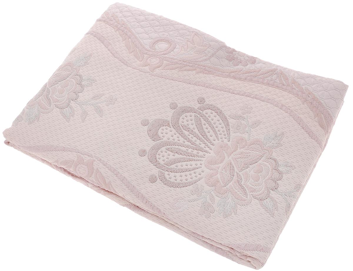 Покрывало Arya Tay-Pen, цвет: розовый, белый, коричневый, 170 х 240 см. 1062_Design 401062_Design 40Покрывало Arya Tay-Pen прекрасно оформит интерьер спальни или гостиной. Изделие изготовлено из 100% полиэстера. Жаккардовые покрывала уникальны, так как они практичны и универсальны в использовании. Жаккардовые ткани хорошо сохраняют окраску, слабо подвержены влиянию перепадов температур. Своеобразный рельефный рисунок, который получается в результате сложного переплетения на плотной ткани, напоминает гобелен. Изделие долговечно, надежно и легко стирается. Покрывало Arya Tay-Pen не только подарит тепло, но и гармонично впишется в интерьер вашего дома.