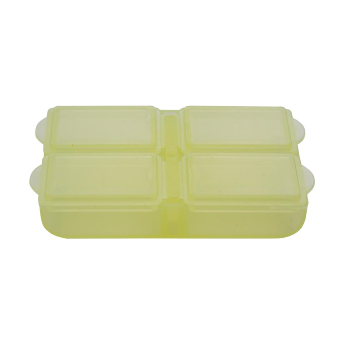 Контейнер для мелочей Trivol, цвет: желтый, 6,4 x 4,4 x 1,8 см498116_ желтыйКонтейнеры для мелочей идеально подойдут для хранения швейных принадлежностей (ниток, бисера, бусин и другого). Выполнены в разных цветовых вариантах.