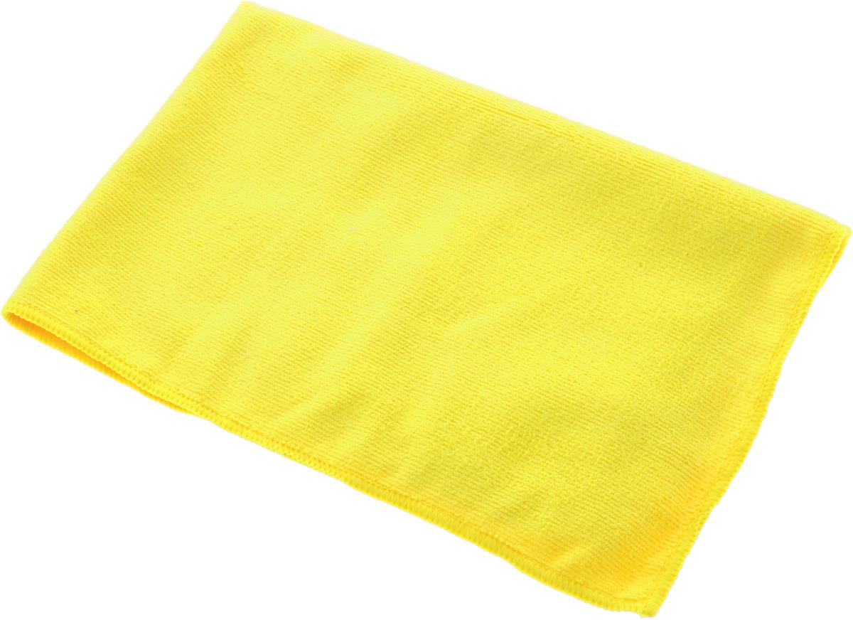 Полотенце кухонное Soavita, цвет: желтый, 40 х 60 см63862Полотенце Soavita выполнено из микрофайбера (80% полиэстер и 20% полиамид). Изделие отлично впитывает влагу, быстро сохнет, сохраняет яркость цвета и не теряет форму даже после многократных стирок. Полотенце очень практично и неприхотливо в уходе.