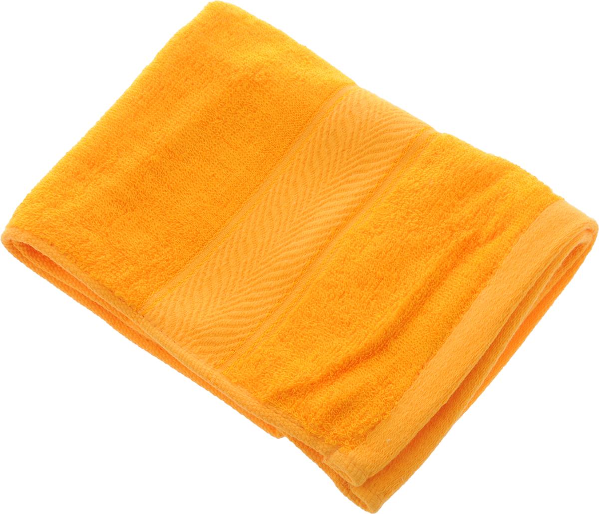 Полотенце Soavita Stefano, цвет: желтый, 30 х 70 см64098Полотенце Soavita Stefano выполнено из 100% бамбукового волокна. Изделие отлично впитывает влагу, быстро сохнет, сохраняет яркость цвета и не теряет форму даже после многократных стирок. Полотенце очень практично и неприхотливо в уходе. Оно создаст прекрасное настроение и украсит интерьер в ванной комнате.