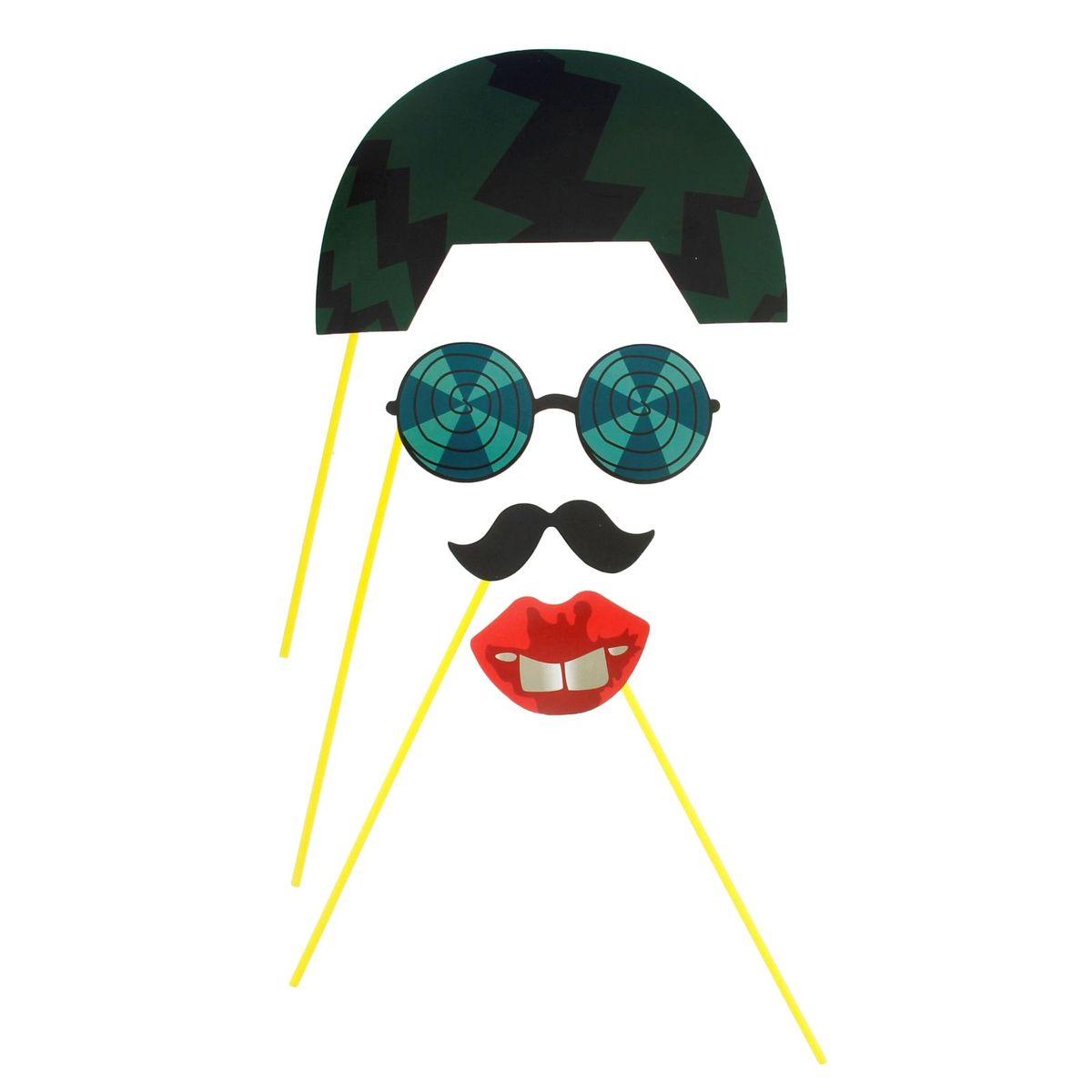 Аксессуары для фотосессии Страна Карнавалия Каска, очки, губки, усы, 4 предмета1019762Ни один праздник не обходится без фотографий. Чтобы они стали еще ярче, веселее и памятнее, нужно задуматься о создании особого образа. Аксессуары для фотосессии Страна Карнавалия Каска, очки, губки, усы сделают снимки искренними и полными радости, создадут оригинальные образы, отлично подойдут для семейных праздников, вечеринок и других торжеств. Подарите себе и близким больше положительных эмоций и памятных мгновений с помощью набора праздничных аксессуаров!