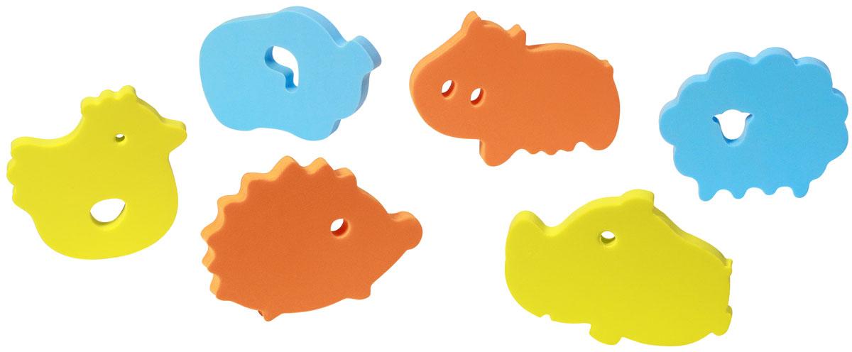 BabyOno Пазл для малышей цвет голубой оранжевый желтый534Пазл для малышей BabyOno - идеальный мягкий пазл для ванной. Пазл изготовлен из мягкого материала, который под воздействием воды приклеивается к гладким поверхностям (плитка, ванна, душевая кабина). Привлекательные формы интенсивных цветов вызывают интерес у ребенка во время купания, благодаря чему ежедневный уход становится для него долгожданной игрой. Пазл для малышей BabyOno стимулирует развитие воображения и мануальных способностей у ребенка. Элементы могут выполнять функцию противоскользящих мини-ковриков, крепящихся на дне ванны или поддона при купании ребенка. В упаковке 6 элементов пазла. Товар сертифицирован.