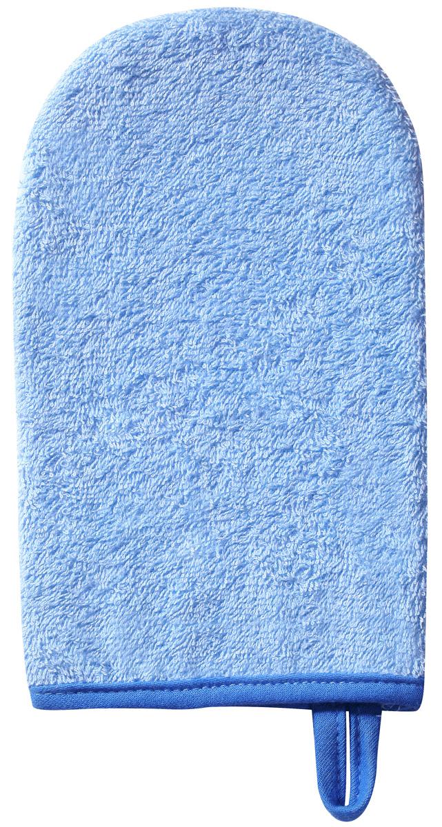 BabyOno Мочалка детская Рукавичка цвет голубой