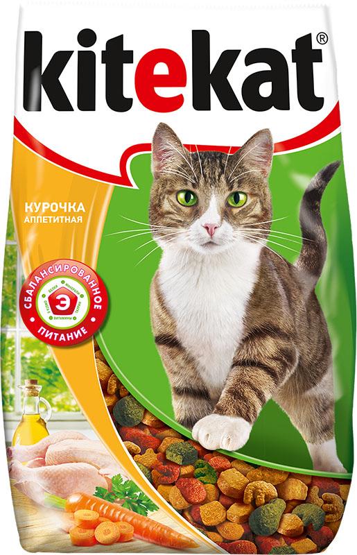 Корм сухой для кошек Kitekat курочка аппетитная, 800 г40427