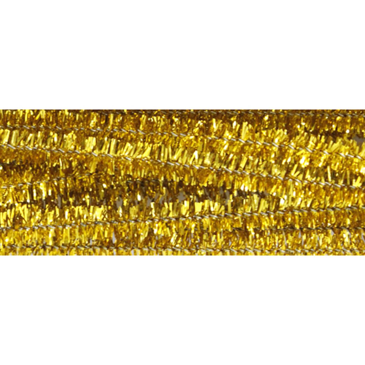 Синель-проволока люрекс Астра, цвет: золотистый, 6 мм х 30 см, 20 шт7708694_ B-002 золотойИз пушистой проволоки можно мастерить разные поделки - плоские и объемные. Такая проволока послужит практичным материалом в валянии и изготовлении игрушек.