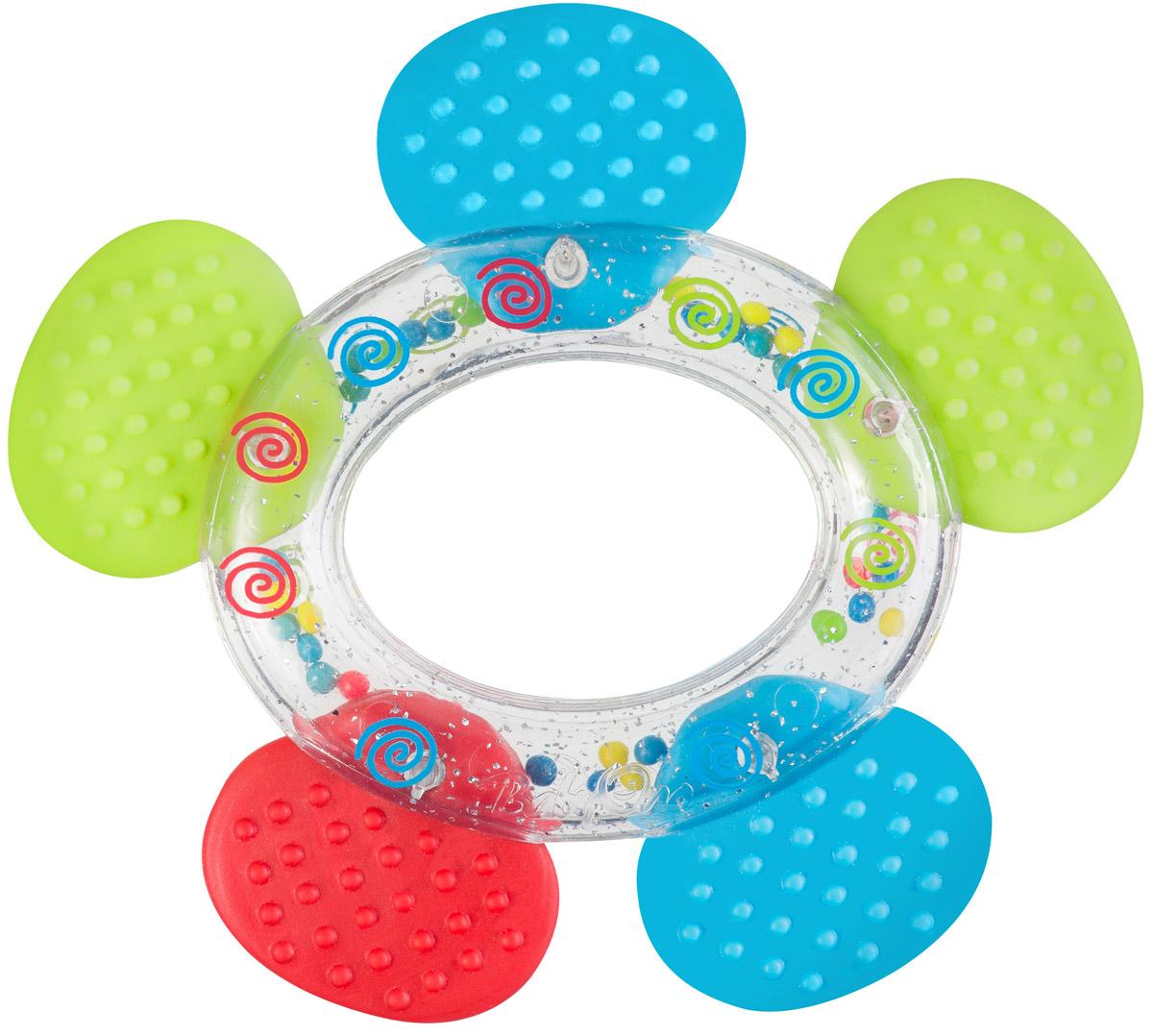 BabyOno Погремушка-прорезыватель Цветок1363Прорезыватель - одна из важных игрушек на этапе младенчества. Он помогает разрабатывать жевательные навыки и мимику. Погремушка-прорезыватель BabyOno Цветок - яркая и интересная игрушка, которая займет малютку на долгое время, а вам позволит отдохнуть. Центральная часть игрушки наполнена цветными шариками, которые весело шумят при встряхивании. Малыш с удовольствием будет исследовать новую форму, наслаждаясь красивыми цветами. Товар сертифицирован.