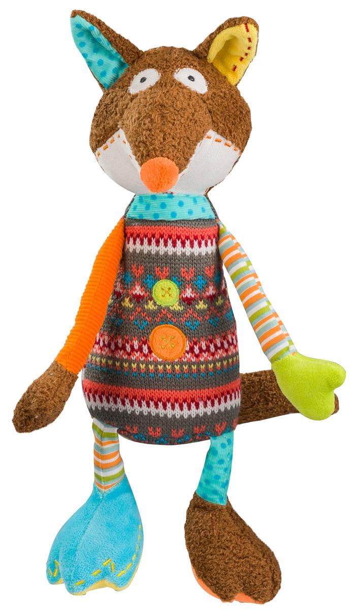 BabyOno Мягкая игрушка-погремушка Лисенок1244Мягкая игрушка-погремушка BabyOno Лисенок - это отличный подарок вашему ребенку. Она станет малышу настоящим другом, с которым можно весело играть днем и уютно засыпать ночью. Игрушка составит приятную компанию малышу на прогулке. Лисенок мягкий, поэтому ребенку будет очень приятно держать игрушку в руках, а яркая одежда игрушки привлечет внимание малыша. Лапки и ушки выполнены из самых разных материалов, что дополнительно развивает мелкую моторику. Спрятанная в игрушке погремушка вызывает интерес и привлекает внимание. Товар сертифицирован.
