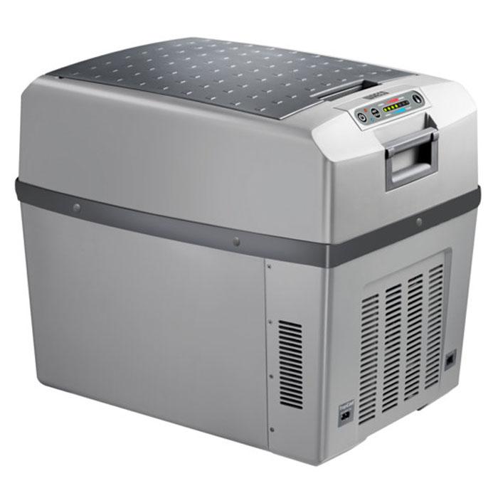 Waeco TropiCool TCX-35 автохолодильник 35 лTCX-35Waeco TropiCool TCX-35 - это мобильный холодильник с термоэлектрической системой, разработанный специально для легковых автомобилей. Камера модели имеет вместительность 35 литров, и может сохранять холодными не только продукты, но и напитки. В качестве источника питания агрегат способен использовать сеть с разными напряжениями: 12/24/230 В. Термоэлектрические холодильники Waeco не используют доя работы фреон, а значит не оказывают негативного воздействия на окружающую среду, поскольку их принцип работы совершенно не похож на принцип работы привычных ботовых холодильных приборов. Также стоит отметить, что агрегаты отличаются большим ресурсом работы и неприхотливы в эксплуатационных условиях. 7-ступенчатая регулировка охлаждения и нагрева Полезный объем: 33 л Отображение температуры на дисплее Функция запоминания последних настроек Класс потребления энергии: A++ Интеллектуальная цепь экономии энергии Динамическая вентиляция...