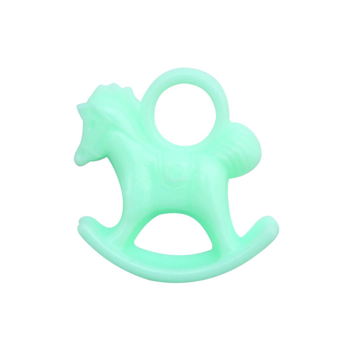 Декоративный элемент Lan Jing Ling Лошадка, цвет: голубой, 6 шт580791_ голубойМиниатюрные декоративные элементы, выполненные из пластика. Используются при создании авторских фотоальбомов, открыток и так далее. В упаковке 6 шт.
