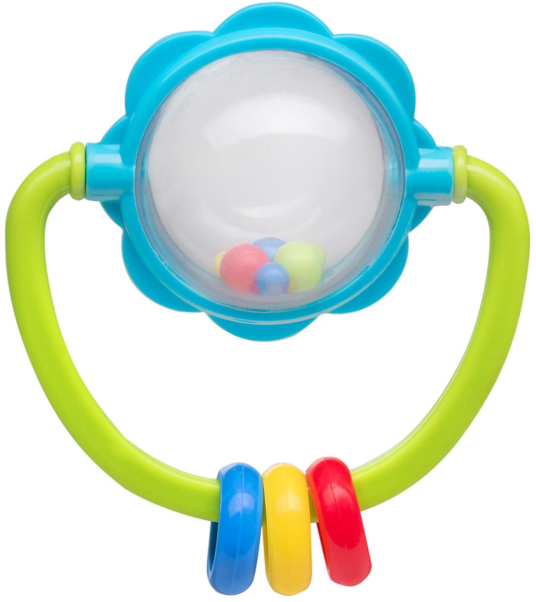 BabyOno Погремушка Шар672Погремушка BabyOno Шар развивает осязательные, зрительные и двигательные способности, учит причинно-следственным связям. Звуки погремушки развивают способность различать силу звука. Погремушка BabyOno Шар развивает моторику и мануальные способности ребенка, навыки захвата ладонью и перекладывания предметов из руки в руку. Легкая конструкция и форма погремушки рассчитаны для маленьких ручек ребенка. Товар сертифицирован.