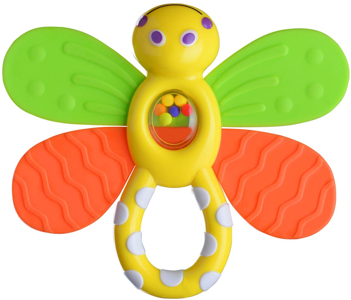 BabyOno Прорезыватель Стрекозка975Прорезыватель - одна из важных игрушек на этапе младенчества. Он помогает разрабатывать жевательные навыки и мимику. Прорезыватель BabyOno Стрекозка - яркая и интересная игрушка, которая займет малютку на долгое время, а вам позволит отдохнуть. Центральная часть игрушки наполнена цветными шариками. Малыш с удовольствием будет исследовать новую форму, наслаждаясь красивыми цветами. Не содержит бисфенол А. Товар сертифицирован.