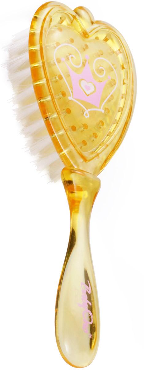 BabyOno Щетка детская для волос цвет золотистый223Детская щетка для волос BabyOno специально разработана для нежного ухода за волосами вашего малыша. Размер и форма щетки специально подобраны для комфортного размещения в руке и легкого расчесывания волос. Мягкая искусственная щетина щетки бережно расчесывает, не повреждая нежную кожу малыша. Перед первым использованием вымойте щетку. Лучше мыть в теплой воде, добавив несколько капель детского шампуня. Хорошо ополосните водой и оставьте высыхать на чистом полотенце. Не кипятить! Товар сертифицирован.