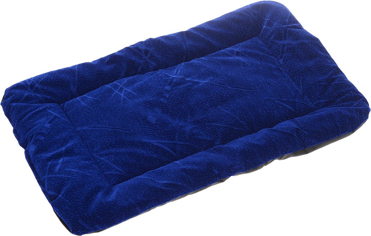 Матрас для животных Зоомарк, цвет: синий, 38 х 54 см521Матрас Зоомарк, выполненный из флока, обязательно понравится вашему питомцу. Он очень удобный и уютный. Ваш любимец сразу же захочет забраться на матрас, там он сможет отдохнуть и подремать в свое удовольствие. Такой матрас необходим для организации собственного уголка питомца в доме, а компактные размеры позволят поместить его где угодно.