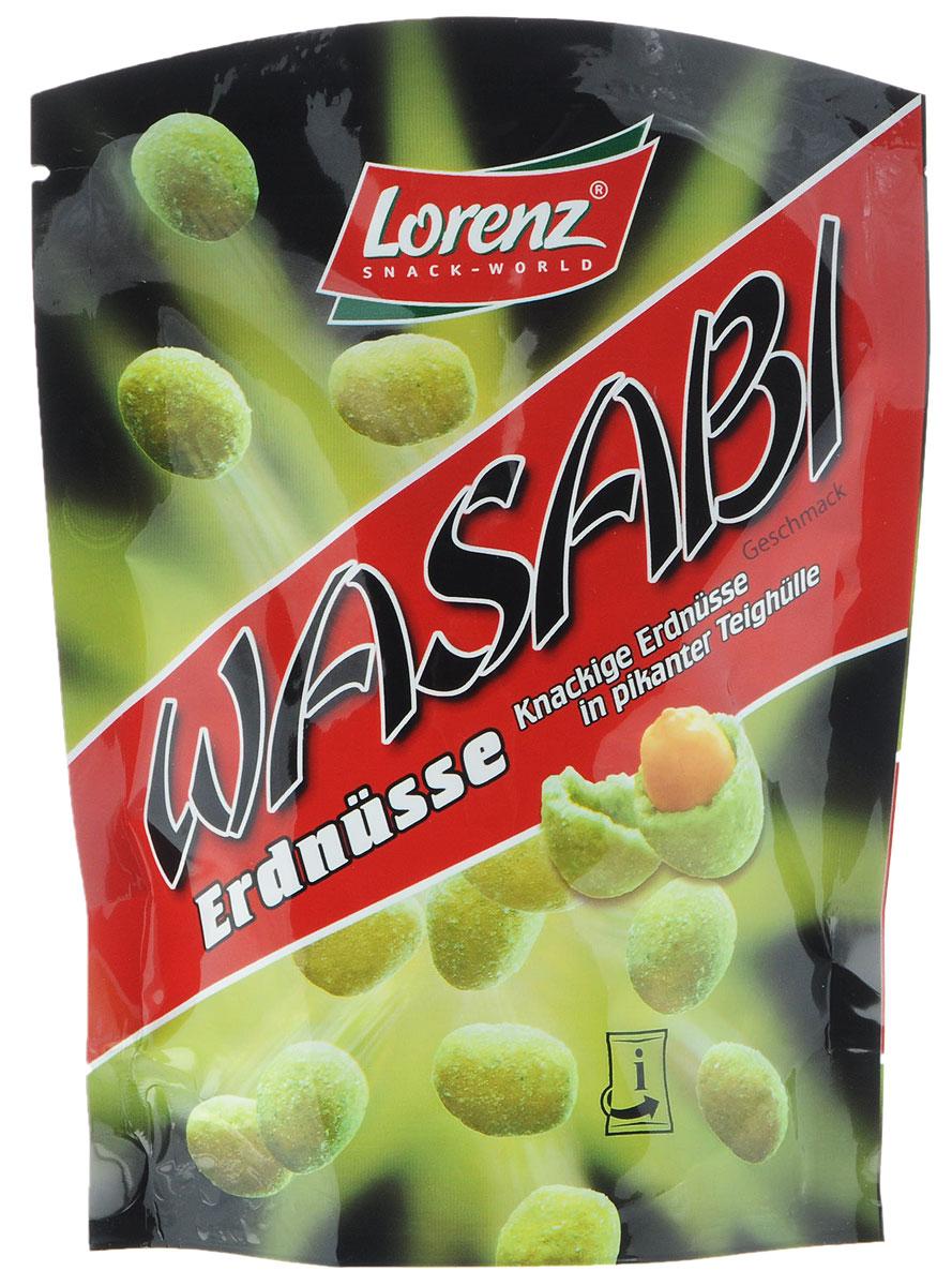 Lorenz Wasabi арахис в хрустящей оболочке из теста, 100 г