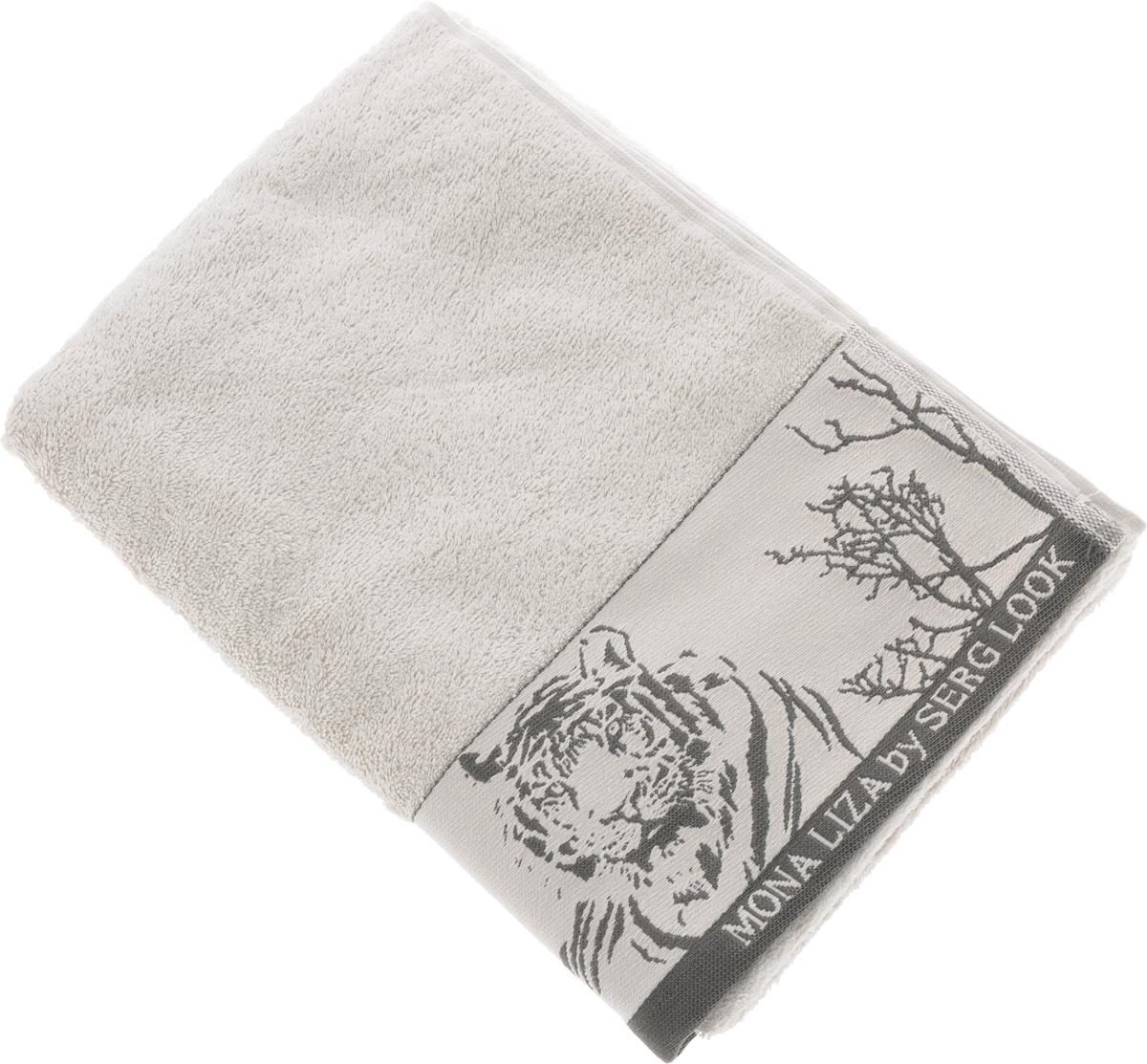 Полотенце Mona Liza Wild, цвет: светло-серый, серый, 70 х 140 см529676/2Мягкое полотенце Wild изготовлено из 30% хлопка и 70% бамбукового волокна. Полотенце Wild с жаккардовым бордюром обладает высокой впитывающей способностью и сочетает в себе элегантную роскошь и практичность. Благодаря высокому качеству изготовления, полотенце будет радовать вас многие годы. Мотивы коллекции Mona Liza Premium bu Serg Look навеяны итальянскими фресками эпохи Ренессанса, периода удивительной гармонии в искусстве. В представленной коллекции для нанесения на ткань рисунка применяется многоцветная печать, метод реактивного крашения, который позволяет создать уникальную цветовую гамму, напоминающую старинные фрески. Этот метод также обеспечивает высокую устойчивость краски при стирке.