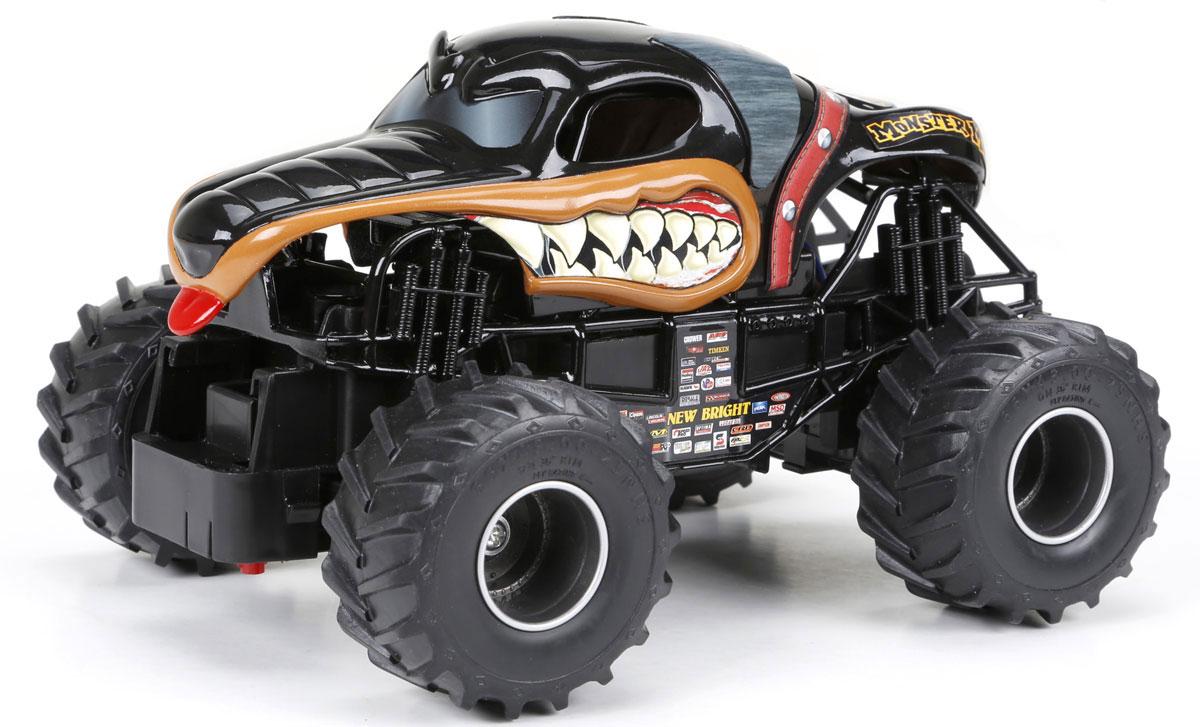 New Bright Радиоуправляемая модель Monster Mutt2430MMПредставьте себе рев толпы и звуки мнущегося под мощным напором металла. С радиоуправляемой моделью New Bright Monster Mutt вы сможете создать собственное шоу Машин Монстров с головокружительными трюками. Большие прорезиненные колеса игрушки обеспечивают плавный ход. Юные гонщики оценят эту машину за прекрасные технические характеристики и свободу передвижений. Моделью легко управлять и любая гонка принесет удовольствие. Управление машинкой происходит с помощью удобного пульта. Пульт управления работает на частоте 40 MHz, а радиус его действия составляет 25-30 метров. Автомобиль двигается вперед-назад, поворачивает влево-вправо. Радиоуправляемые игрушки способствуют развитию координации движений, моторики и ловкости. Ваш ребенок увлеченно будет играть с моделью, придумывая различные истории и устраивая соревнования. Для работы машины необходимо купить 3 батарейки типа АА (не входят в комплект). Для работы пульта управления необходимы 2...