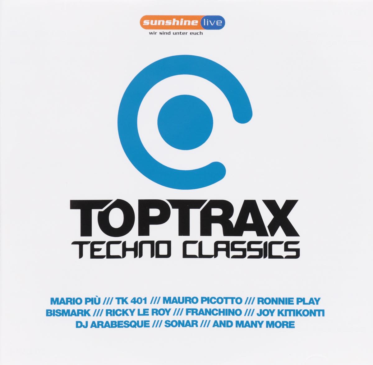 Toptrax Techno Classics (2 CD) 2011 2 Audio CD