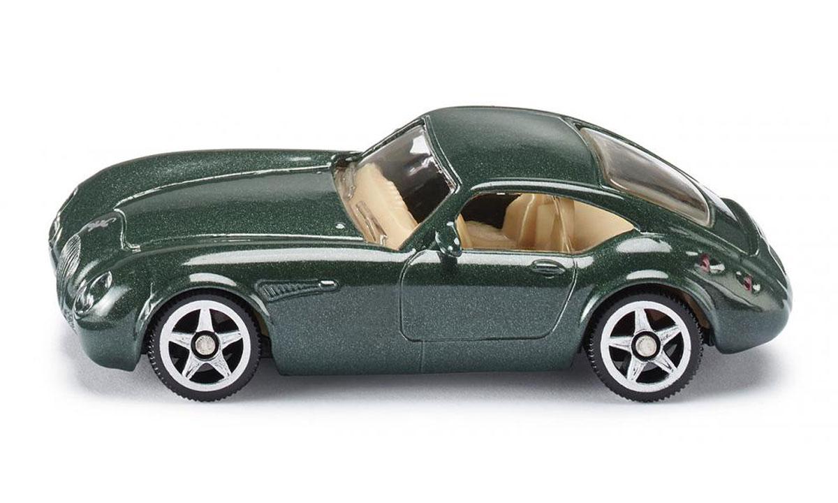 Siku Модель автомобиля Wiesmann GT MF40879Модель автомобиля Siku Wiesmann GT MF4 выполнена в виде уменьшенной копии реального авто. Такая модель понравится не только ребенку, но и взрослому коллекционеру, и приятно удивит вас высочайшим качеством исполнения. Модель выполнена из металла с элементами из пластика; прорезиненные колеса имеют свободный ход. Отличный подарок для любителей автомобилей!