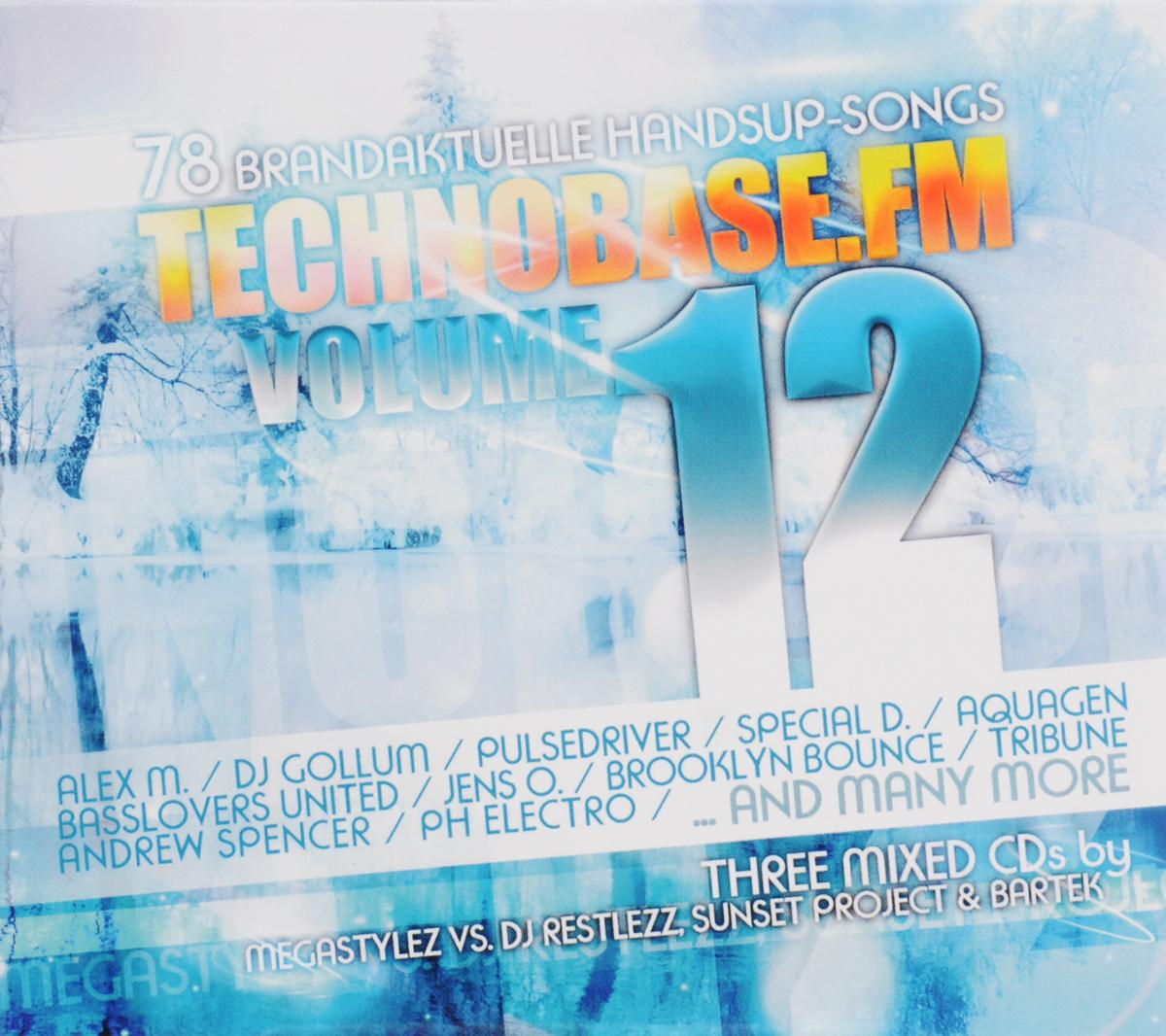 Technobase.Fm. Volume 12 (3 CD) 2015 3 Audio CD