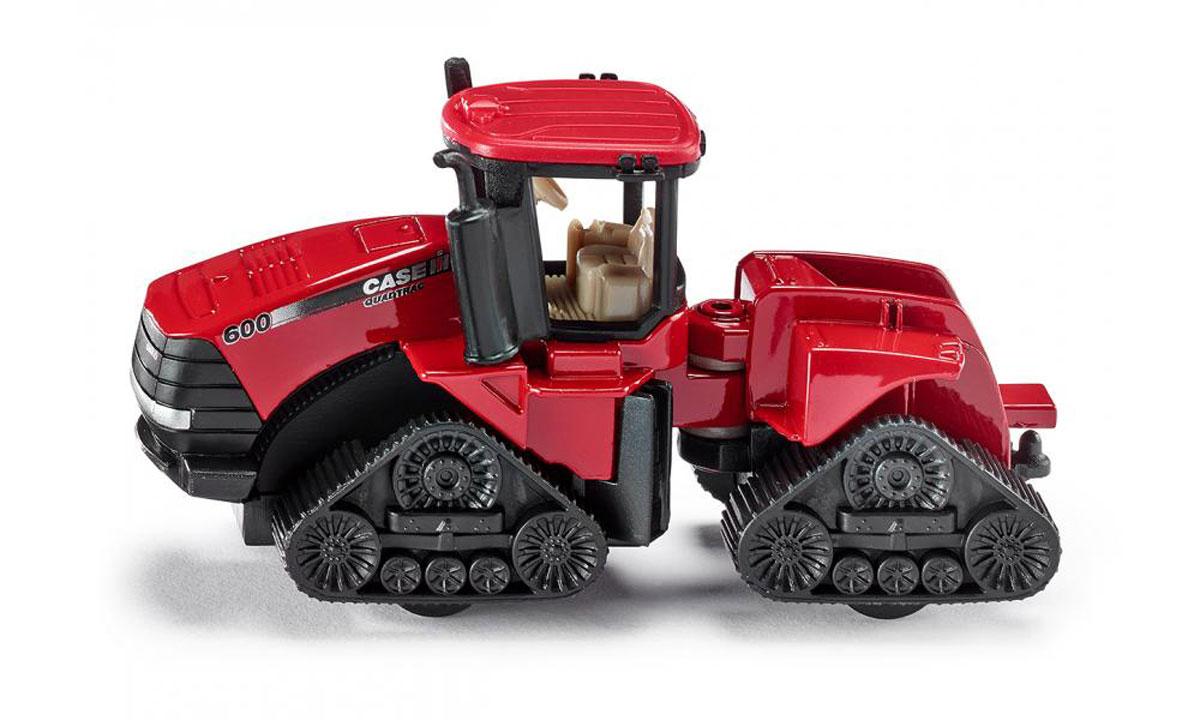 Siku Трактор гусеничный Case IH Quadtrac 6001324Трактор Siku Case IH Quadtrac 600 выполнен в виде точной копии гусеничного трактора. Такая модель понравится не только ребенку, но и взрослому коллекционеру и приятно удивит вас высочайшим качеством исполнения. Корпус трактора выполнен из металла с пластиковыми элементами. Колеса модели вращаются. Модель отличается великолепным качеством исполнения и детальной проработкой, она станет не только интересной игрушкой для ребенка, интересующегося агротехникой, но и займет достойное место в коллекции.