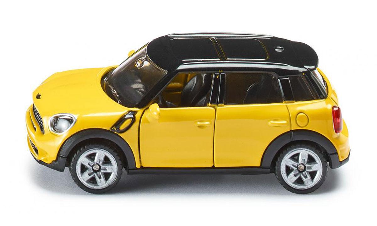 Siku Модель автомобиля Mini Countryman1454Модель автомобиля Siku Mini Countryman станет замечательным подарком для любителей техники всех возрастов. Модель представляет собой реалистичную копию настоящего автомобиля. Модель отличается высокой степенью детализации. Корпус модели выполнен из металла, детали изготовлены из ударопрочного пластика. Передние дверцы машинки открываются, прорезиненные колеса вращаются. Ваш ребенок часами будет играть с такой игрушкой, придумывая различные истории и устраивая соревнования.