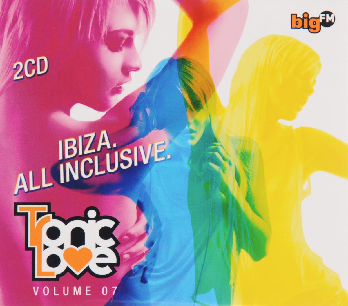 Big FM. Tronic Love. Volume 07 (2 CD) 2012 2 Audio CD