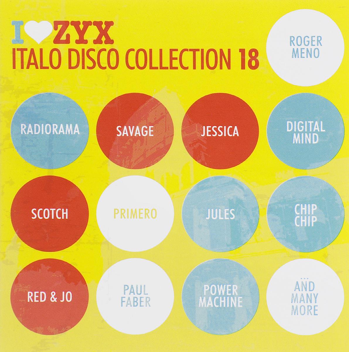 Italo Disco Collection 18 (3 CD)
