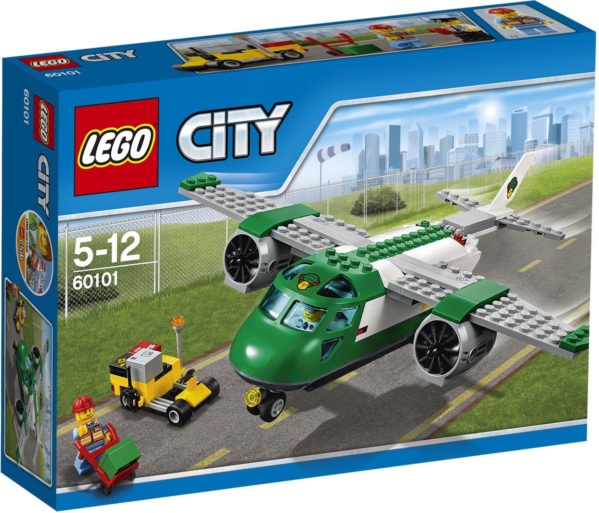 LEGO City Конструктор Грузовой самолет 6010160101Помогите пилоту и работнику аэропорта подготовить посылки к отправке! Используйте тележку, чтобы загрузить посылки в служебный автомобиль аэропорта, и отвезите их к задней части самолета для погрузки. Загрузите все посылки и обязательно убедитесь, что задний люк закрыт, прежде чем сказать пилоту, что он может отправляться. Взлетайте ввысь и сделайте доставку посылок веселой и быстрой! Набор включает в себя 157 разноцветных пластиковых элементов. Конструктор станет замечательным сюрпризом вашему ребенку, который будет способствовать развитию мелкой моторики рук, внимательности, усидчивости и мышления. Играя с конструктором, ребенок научится собирать детали по образцу, проводить время с пользой и удовольствием.