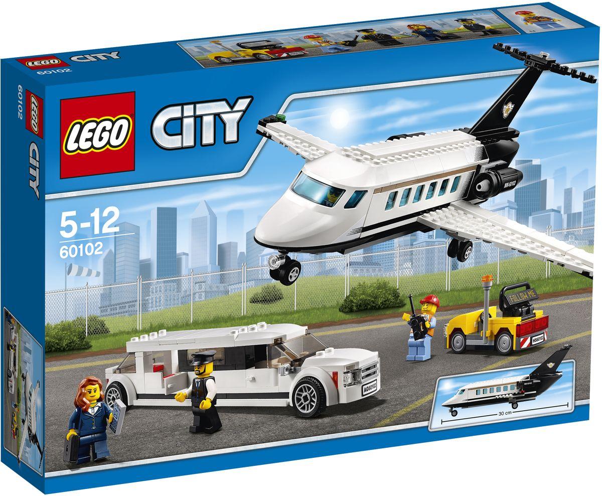 LEGO City Конструктор Служба аэропорта для важных клиентов 6010260102Убедитесь, что все важные документы упакованы и готовы к отправке! Помогите пилоту подготовить частный самолет для следующего клиента, который должен прибыть в ближайшее время. Как можно быстрее отвезите бизнес-леди в аэропорт на лимузине, чтобы она не опоздала на самолет. Садитесь в кресло и пристегните ремни - пора взлетать! Набор включает в себя 364 разноцветных пластиковых элемента. Конструктор - это один из самых увлекательных и веселых способов времяпрепровождения. Ребенок сможет часами играть с конструктором, придумывая различные ситуации и истории.