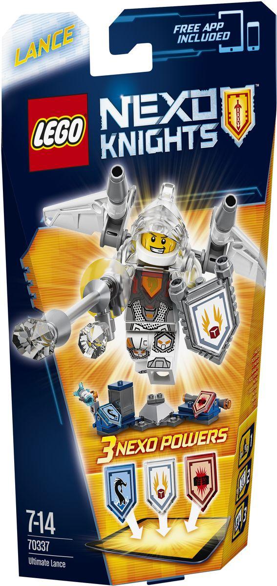 LEGO NEXO KNIGHTS Конструктор Ланс - Абсолютная сила 7033770337Знаменитый, очаровательный, бравый, а теперь и очень быстрый. Тот, кто вступает в схватку с этим блестящим рыцарем, нарывается на крупные неприятности, когда тот взлетает вверх с помощью реактивных ускорителей, установленных на его крыльях. Преодолейте звуковой барьер вместе с Nexo- силой Взлет или уничтожьте врага Nexo-силой Морской дракон. Улучшите свои боевые навыки, отсканировав щиты для получения трех Nexo-сил, которые пополнят вашу цифровую коллекцию уникальных способностей и позволят перехитрить злобных Лавовых монстров LEGO NEXO KNIGHTS. Приложение MERLOK 2.0. Сканируйте для получения трех Nexo-сил: Взлет, Электрическая Атака и Морской дракон. Набор включает в себя 75 разноцветных элементов. Конструктор - это один из самых увлекательных и веселых способов времяпрепровождения. Ребенок сможет часами играть с конструктором, придумывая различные ситуации и истории.