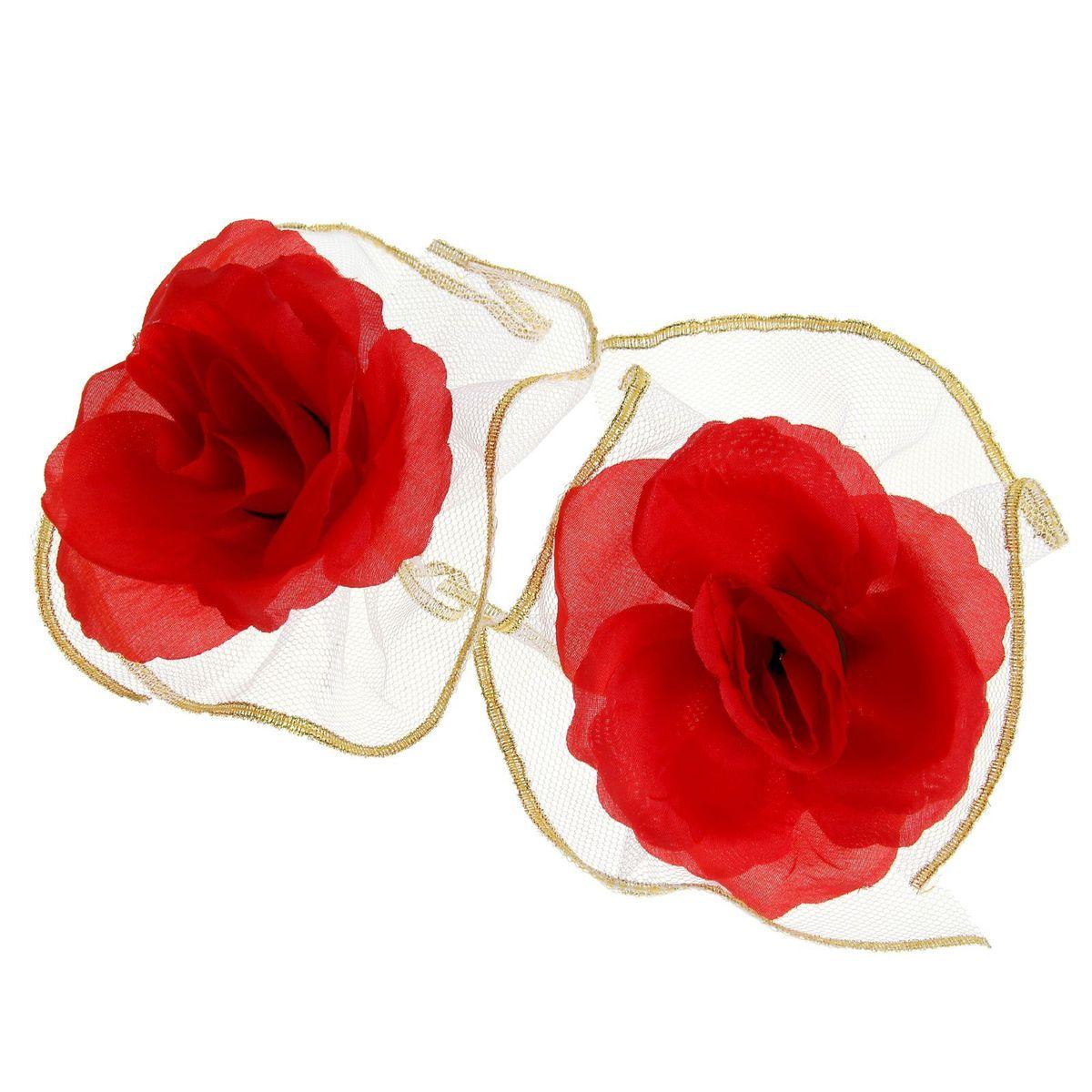 Sima-land Набор красных роз для украшения свадебного авто (2шт), 12 х 9 см1116950Невозможно представить нашу жизнь без праздников! Мы всегда ждём и предвкушаем их, обдумываем, как проведём памятный день, тщательно выбираем подарки и аксессуары, ведь именно они создают и поддерживают праздничный настрой. Особенно если речь идёт о свадьбе!