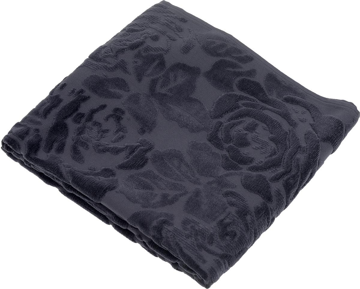 Коврик-полотенце для ванной Issimo Home Melrose, цвет: индиго, 70 x 110 см4732Коврик-полотенце для ванной Issimo Home Melrose выполнен из высококачественного хлопка. Такое изделие подарит вам массу положительных эмоций и приятных ощущений. Коврик отличается нежностью и мягкостью материала, утонченным дизайном и превосходным качеством. Он прекрасно впитывает влагу, быстро сохнет и не теряет своих свойств после многократных стирок.