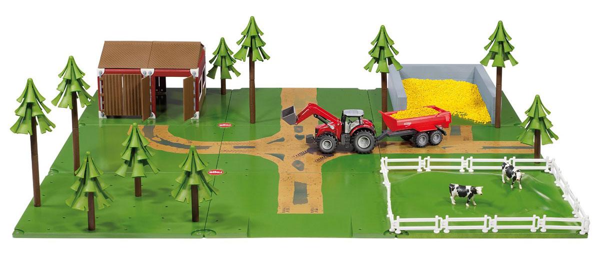 Siku Игровой набор Ферма5601Игровой набор Siku Ферма - прекрасный стартовый игровой набор и отличный подарок для мальчика любого возраста. Набор поможет разнообразить игру вашего ребенка, а благодаря тому, что набор совместим со всеми моделями и аксессуарами Siku, можно всегда дополнить его новыми интересными элементами. Постройте собственную ферму! Ваш ребенок увлеченно будет играть с этим набором, придумывая различные истории.