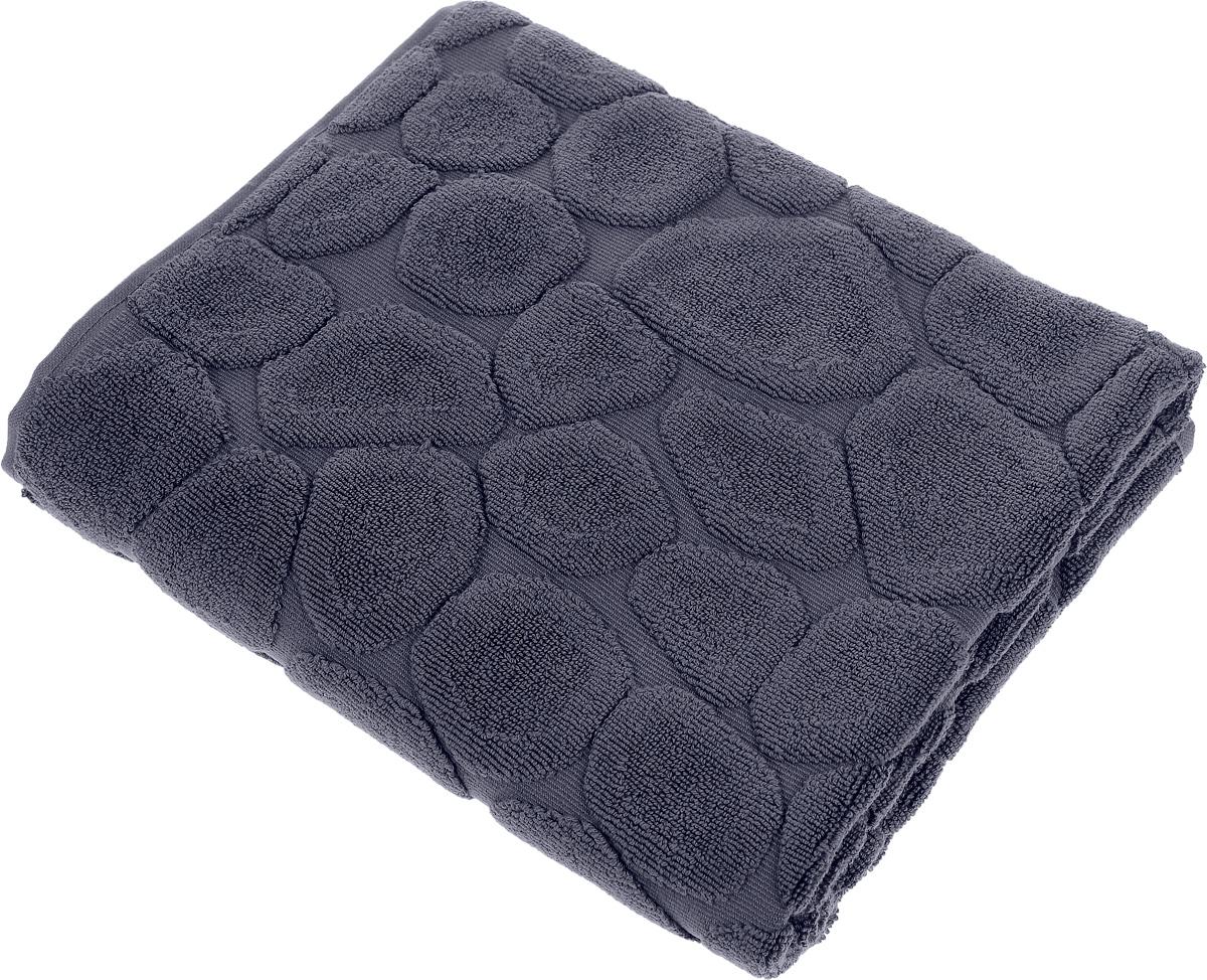 Коврик-полотенце для ванной Issimo Home Lavia, цвет: индиго, 60 x 90 см4734Коврик-полотенце для ванной Issimo Home Lavia выполнен из высококачественного хлопка. Такое изделие подарит вам массу положительных эмоций и приятных ощущений. Коврик отличается нежностью и мягкостью материала, утонченным дизайном и превосходным качеством. Он прекрасно впитывает влагу, быстро сохнет и не теряет своих свойств после многократных стирок.