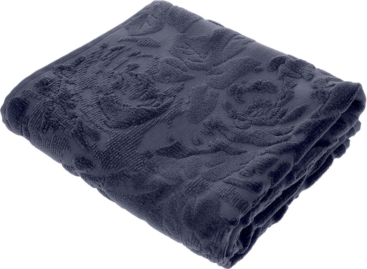 Коврик-полотенце для ванной Issimo Home Melrose, цвет: индиго, 60 x 90 см4749Коврик-полотенце для ванной Issimo Home Melrose выполнен из высококачественного хлопка. Такое изделие подарит вам массу положительных эмоций и приятных ощущений. Коврик отличается нежностью и мягкостью материала, утонченным дизайном и превосходным качеством. Он прекрасно впитывает влагу, быстро сохнет и не теряет своих свойств после многократных стирок.