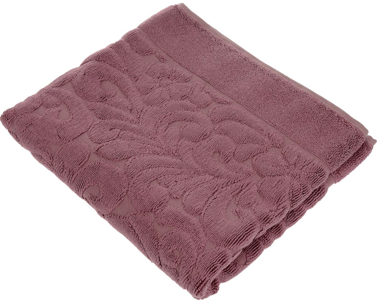 Коврик-полотенце для ванной Issimo Home Valencia, цвет: пыльная роза, 50 x 80 см4700Коврик-полотенце для ванной Issimo Home Valencia выполнен из высококачественного хлопка и бамбука. Такое изделие подарит вам массу положительных эмоций и приятных ощущений. Коврик отличается нежностью и мягкостью материала, утонченным дизайном и превосходным качеством. Он прекрасно впитывает влагу, быстро сохнет и не теряет своих свойств после многократных стирок.