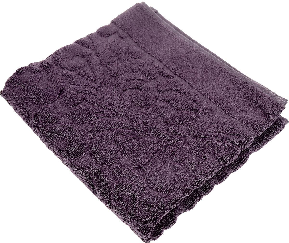 Коврик-полотенце для ванной Issimo Home Valencia, цвет: пурпурный, 50 x 80 см4705Коврик-полотенце для ванной Issimo Home Valencia выполнен из высококачественного хлопка и бамбука. Такое изделие подарит вам массу положительных эмоций и приятных ощущений. Коврик отличается нежностью и мягкостью материала, утонченным дизайном и превосходным качеством. Он прекрасно впитывает влагу, быстро сохнет и не теряет своих свойств после многократных стирок.