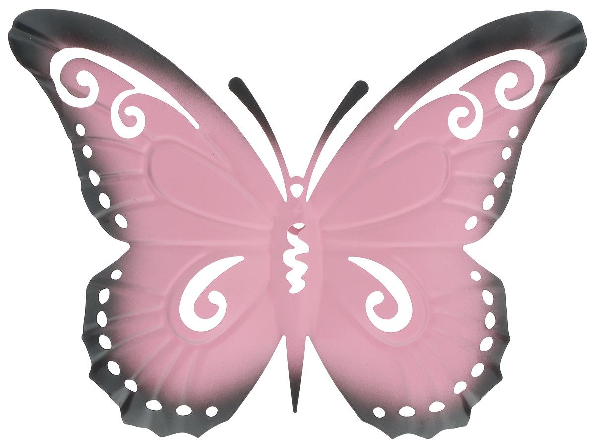Декор настенный Gardman Butterfly, 12,5 х 16,5 см17348Настенный декор Gardman Butterfly изготовлен из стали в виде бабочки. Изделие сварено и обработано вручную. Вы можете повесить его на стену как картину. Настенный декор Gardman Butterfly оригинально украсит ваш дом или сад и станет замечательным дизайнерским решением.
