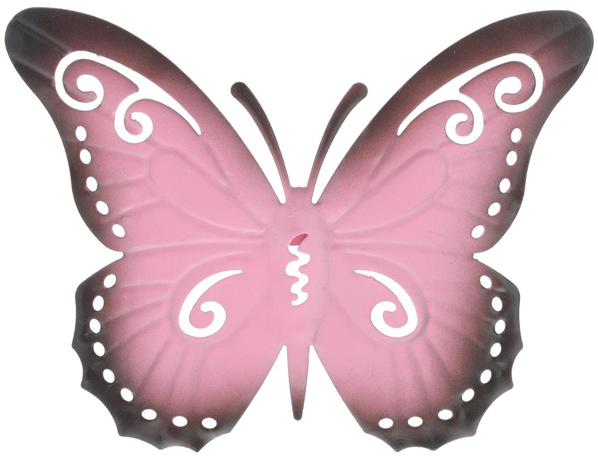 Декор настенный Gardman Butterfly, 18 х 23 см17349Настенный декор Gardman Butterfly изготовлен из стали в виде бабочки. Изделие сварено и обработано вручную. Вы можете повесить его на стену как картину. Настенный декор Gardman Butterfly оригинально украсит ваш дом или сад и станет замечательным дизайнерским решением.
