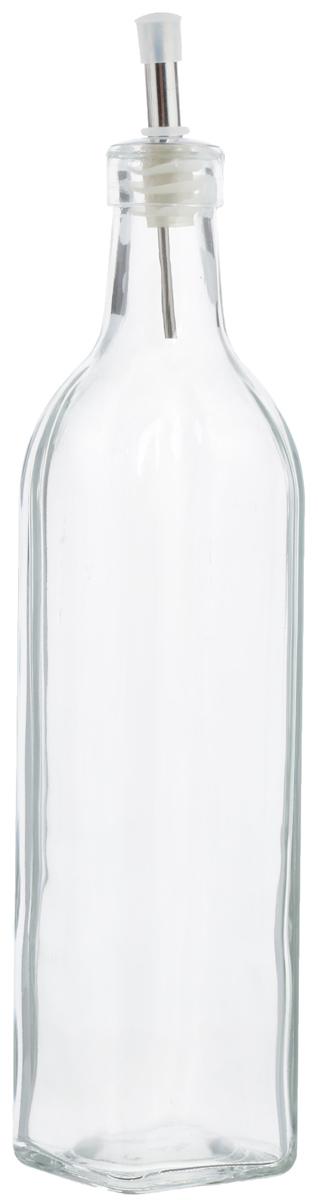 Емкость для масла и уксуса Zeller, 500 мл. 1972919729Емкость для масла или уксуса Zeller, выполненная из стекла, позволит украсить любую кухню. Она внесет разнообразие как в строгий классический стиль, так и в современный кухонный интерьер. Легка в использовании, стоит только перевернуть, и вы с легкостью сможете добавить оливковое масло или уксус. Оригинальная емкость будет отлично смотреться на вашей кухне. Диаметр по верхнему краю: 2,8 см. Высота емкости (с учетом крышки): 29,5 см.