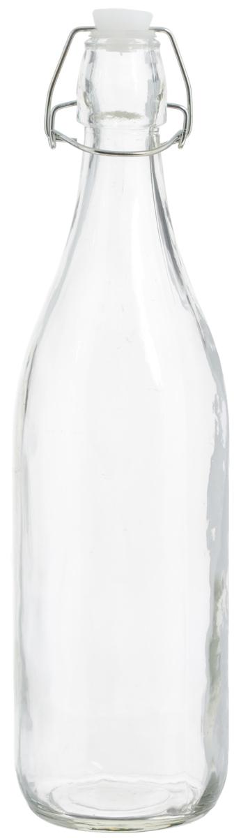 Емкость для масла и уксуса Zeller, 1 л19713Емкость для масла или уксуса Zeller, выполненная из стекла, позволит украсить любую кухню. Она внесет разнообразие как в строгий классический стиль, так и в современный кухонный интерьер. Пластиковая крышка с силиконовой вставкой и металлической клипсой, делает бутылку герметичной. Оригинальная емкость Zeller будет отлично смотреться на вашей кухне. Диаметр по верхнему краю: 2,8 см. Высота (с учетом крышки): 32 см.