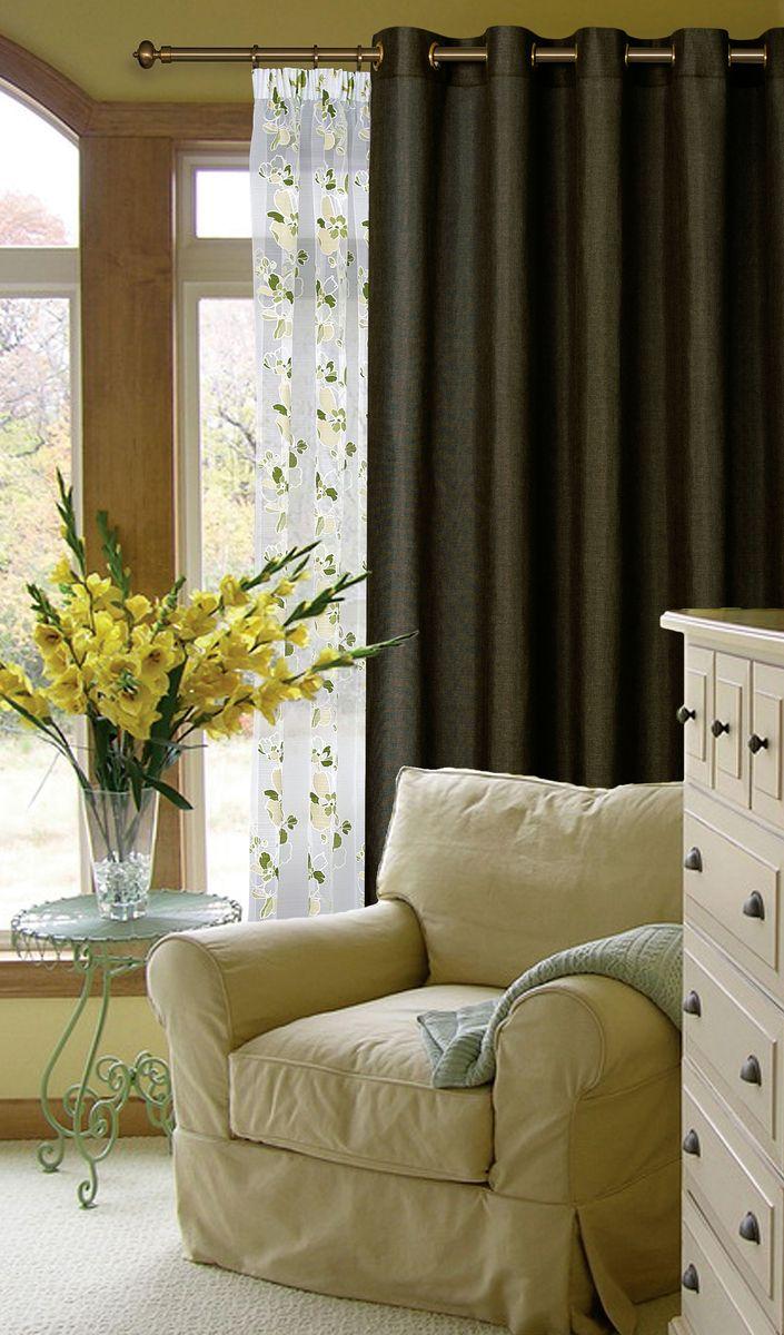Штора Garden, на ленте, высота 260 см. С W1884 V78079С W1884 V78079Garden – это универсальная и интересная серия домашних портьер для яркого и стильного оформления окон и создания особенной уютной атмосферы. Эта портьера великолепно смотрится как одна, так и в паре, в комбинации с нежной тюлевой занавеской, собранная на подхваты и свободно ниспадающая естественными складками. Такая портьера, изготовленная полностью из прочного и очень практичного полиэстерового полотна, долговечна и не боится стирок, не сминается, не теряет своего блеска и яркости красок.