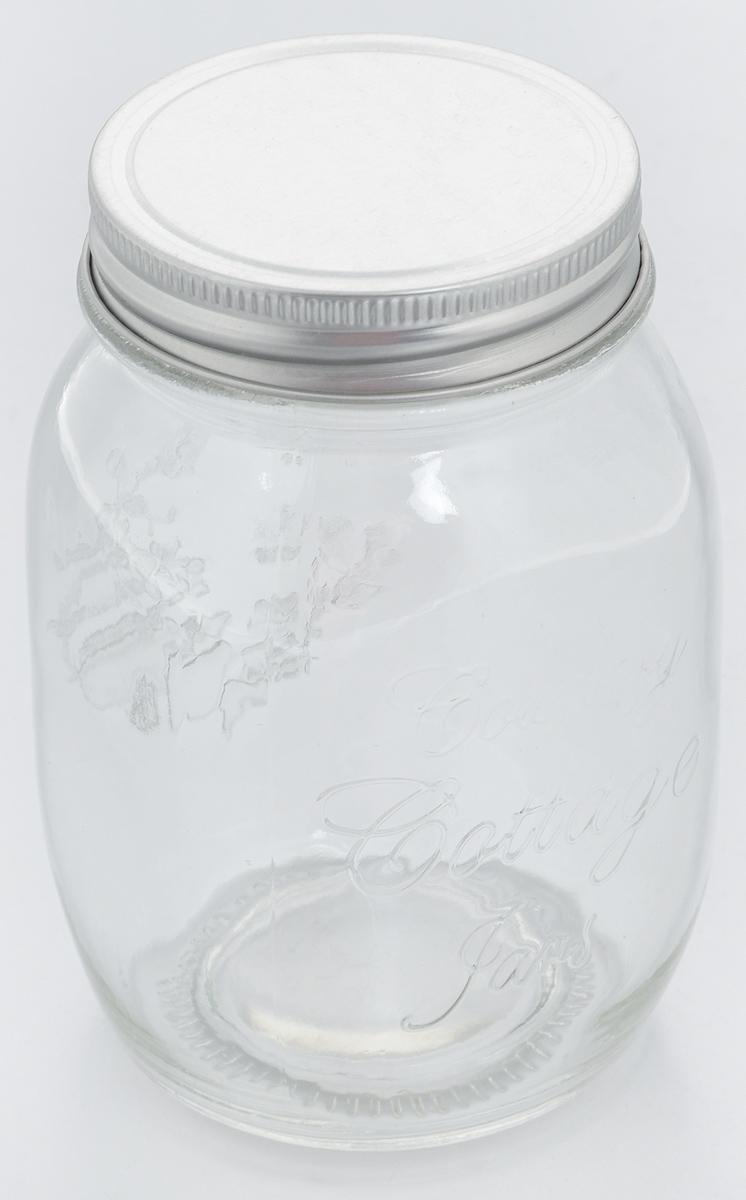 Банка для хранения Zeller, 600 мл19723Банка Zeller, изготовленная из прочного стекла, снабжена металлической крышкой, которая плотно и герметично закрывается, дольше сохраняя аромат и свежесть содержимого. Банка подходит для хранения сыпучих продуктов: круп, чая, специй, орехов, сахара, соли и многого другого. Функциональная и вместительная, такая банка станет незаменимым аксессуаром на любой кухне. Диаметр банки (по верхнему краю): 6,5 см. Высота банки (без учета крышки): 13,6 см.